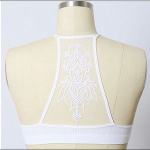 Other - NWT Tattoo Mesh Bralette